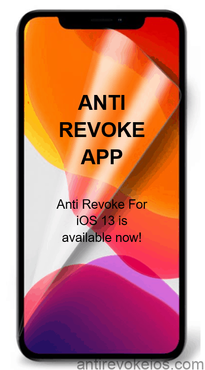Anti Revoke for iOS 13 App - download