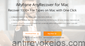 anyrecover to recover deleted mac photos